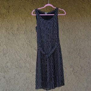 Halogen lined dress.